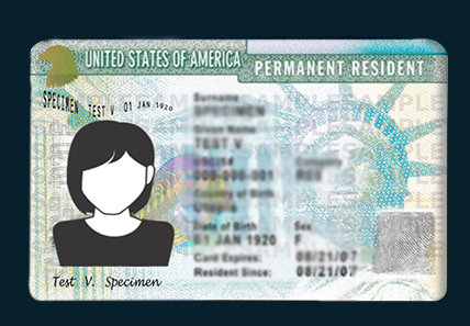 Procedures to be followed when Green Card is lost / stolen